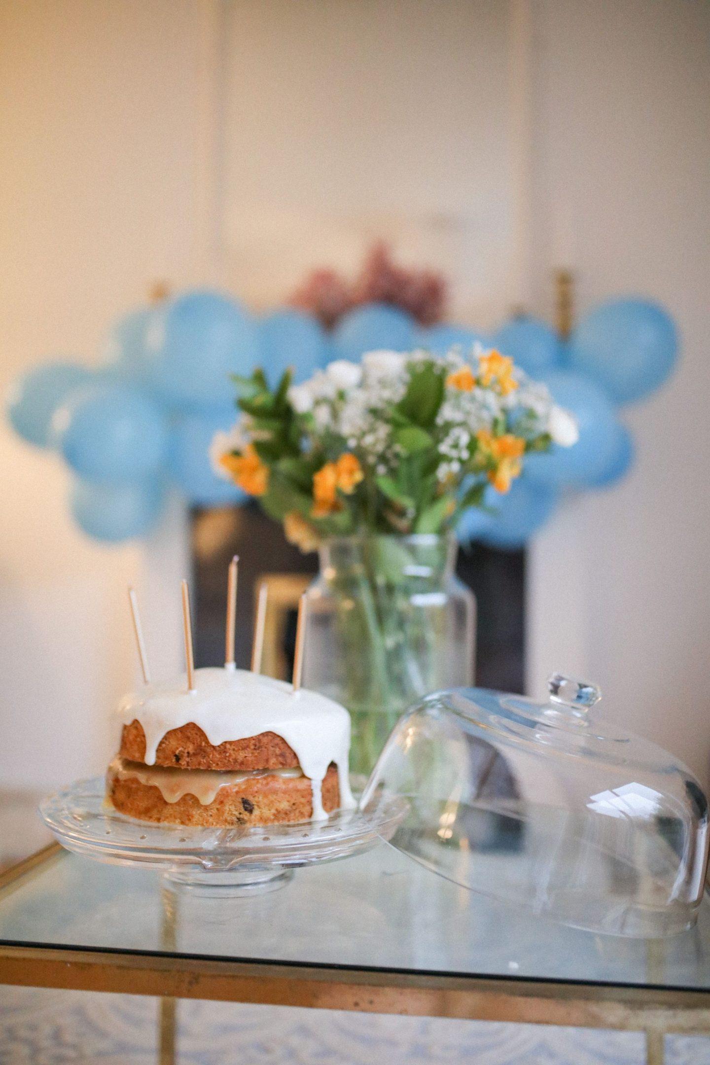 Carrot and sultana birthday cake, Katie Heath, KALANCHOE