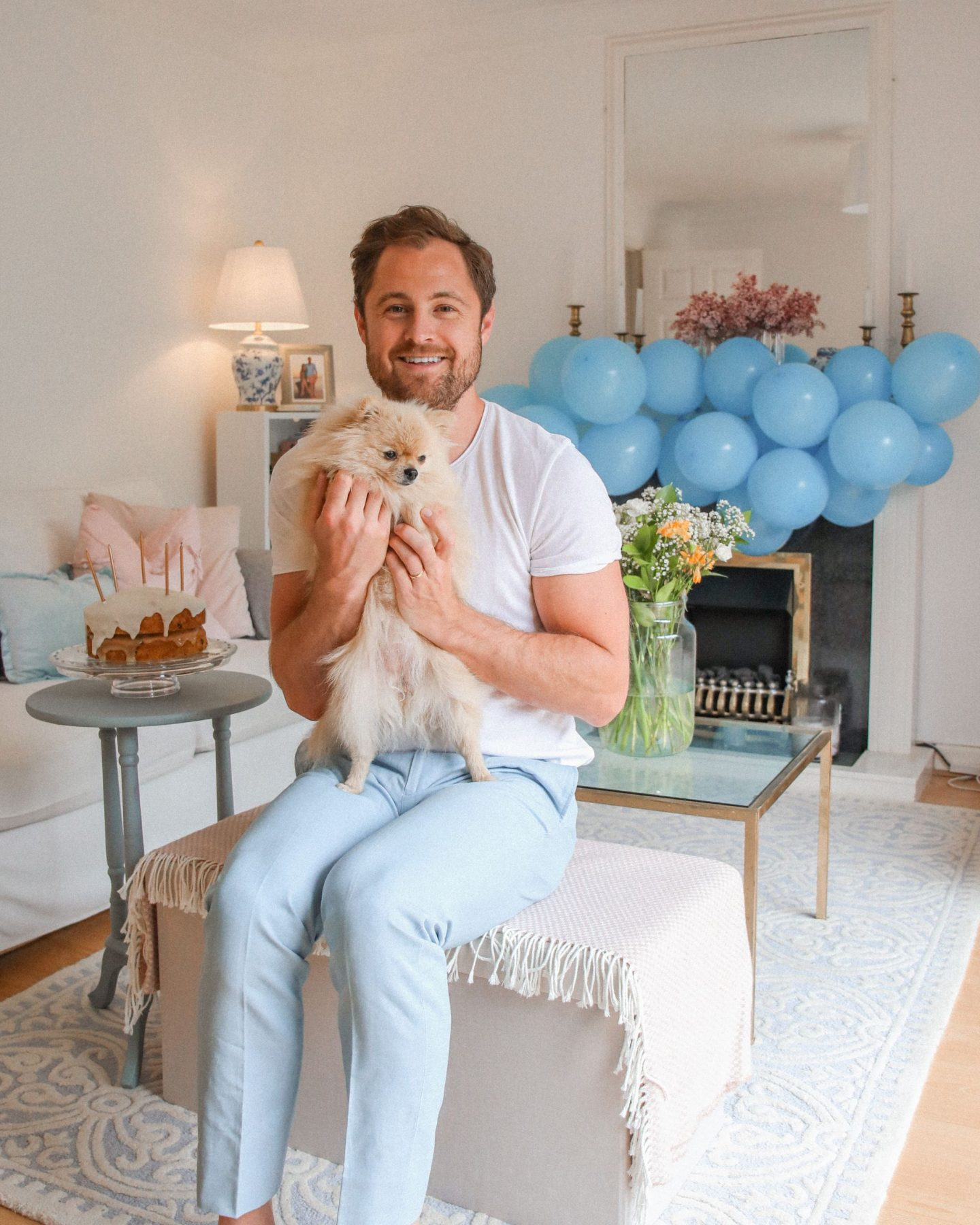 Ben Heath and Pepi the Pom, Katie KALANCHOE
