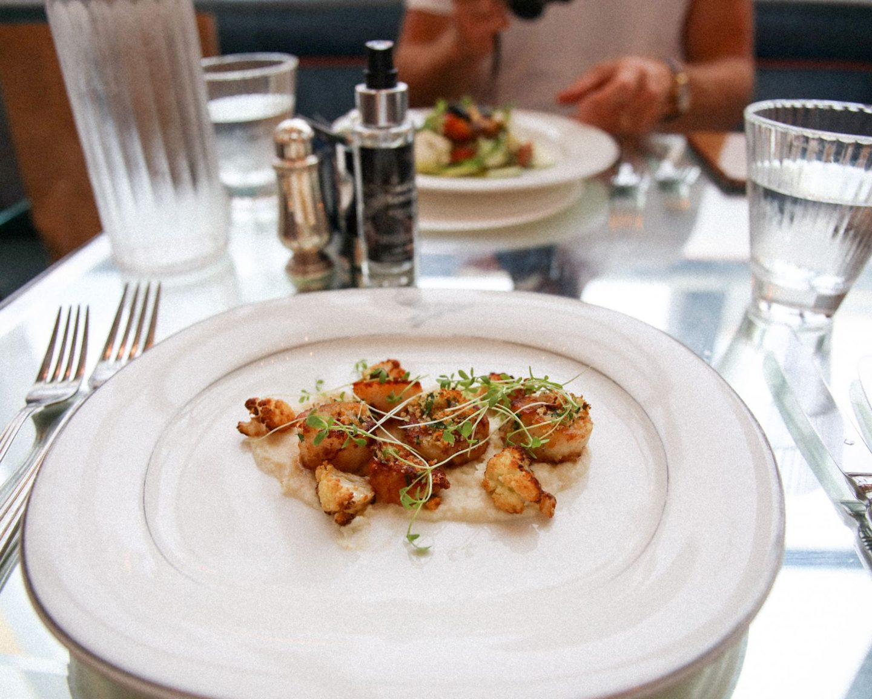 Dining at The Brasserie of Light, Selfridges, London, Katie Heath, KALANCHOE