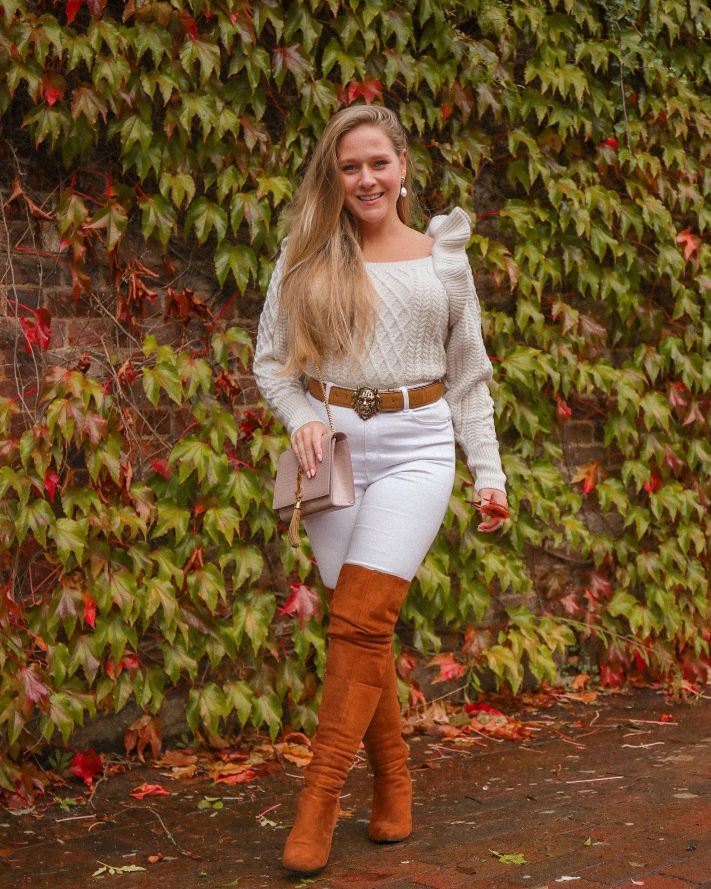 autumn cosy wardrobe and statement coat, Katie Heath, KALANCHOE