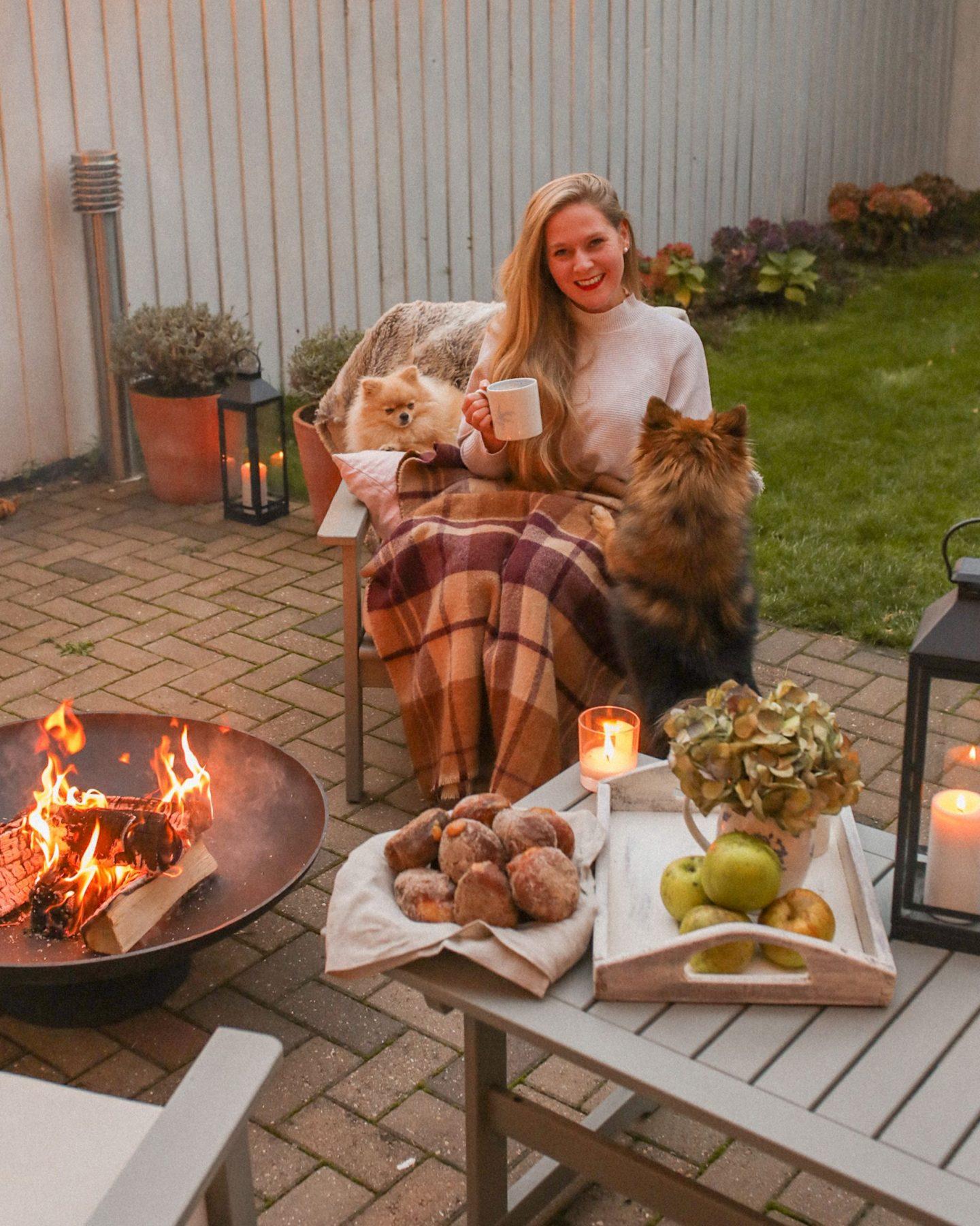The perfect autumn hygge set up, Katie Heath, KALANCHOE