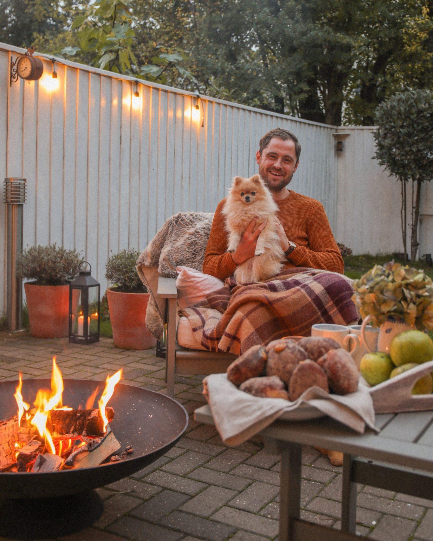 The perfect autumn hygge set up, Ben Heath, KALANCHOE