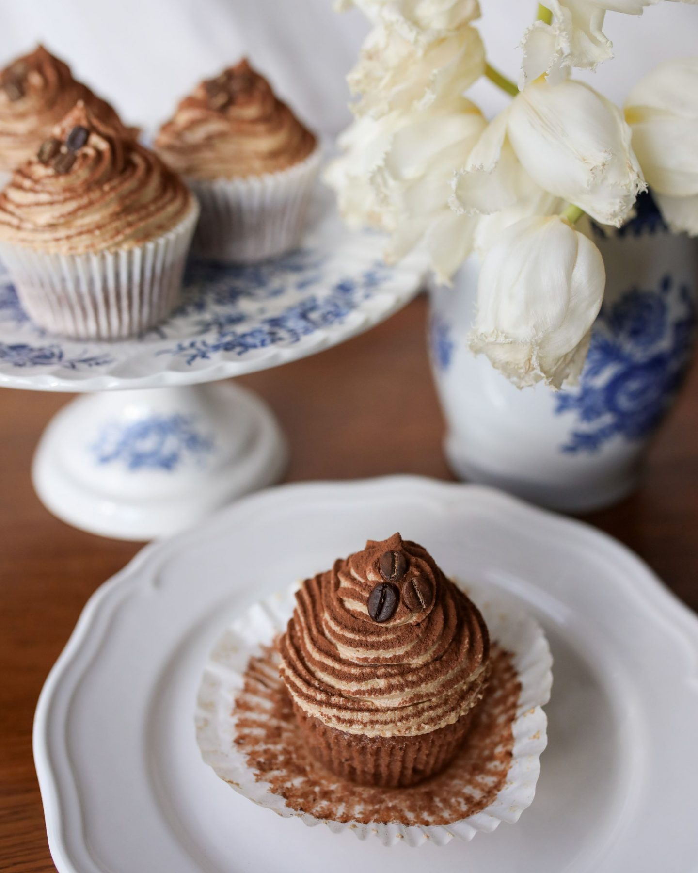 Chocolate and Coffee Cupcakes with a Caramel Core, Katie KALANCHOE