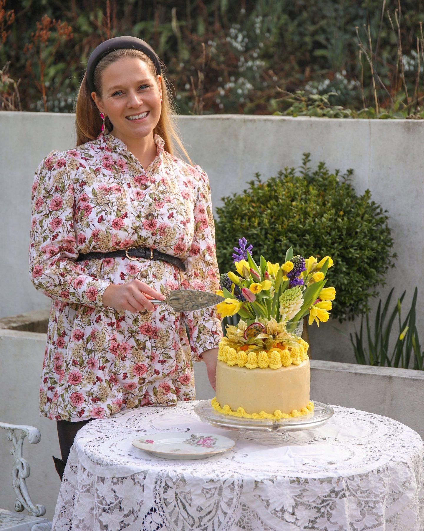 Chocolate and Passion Fruit Four Tier Celebration Cake, Katie Heath KALANCHOE