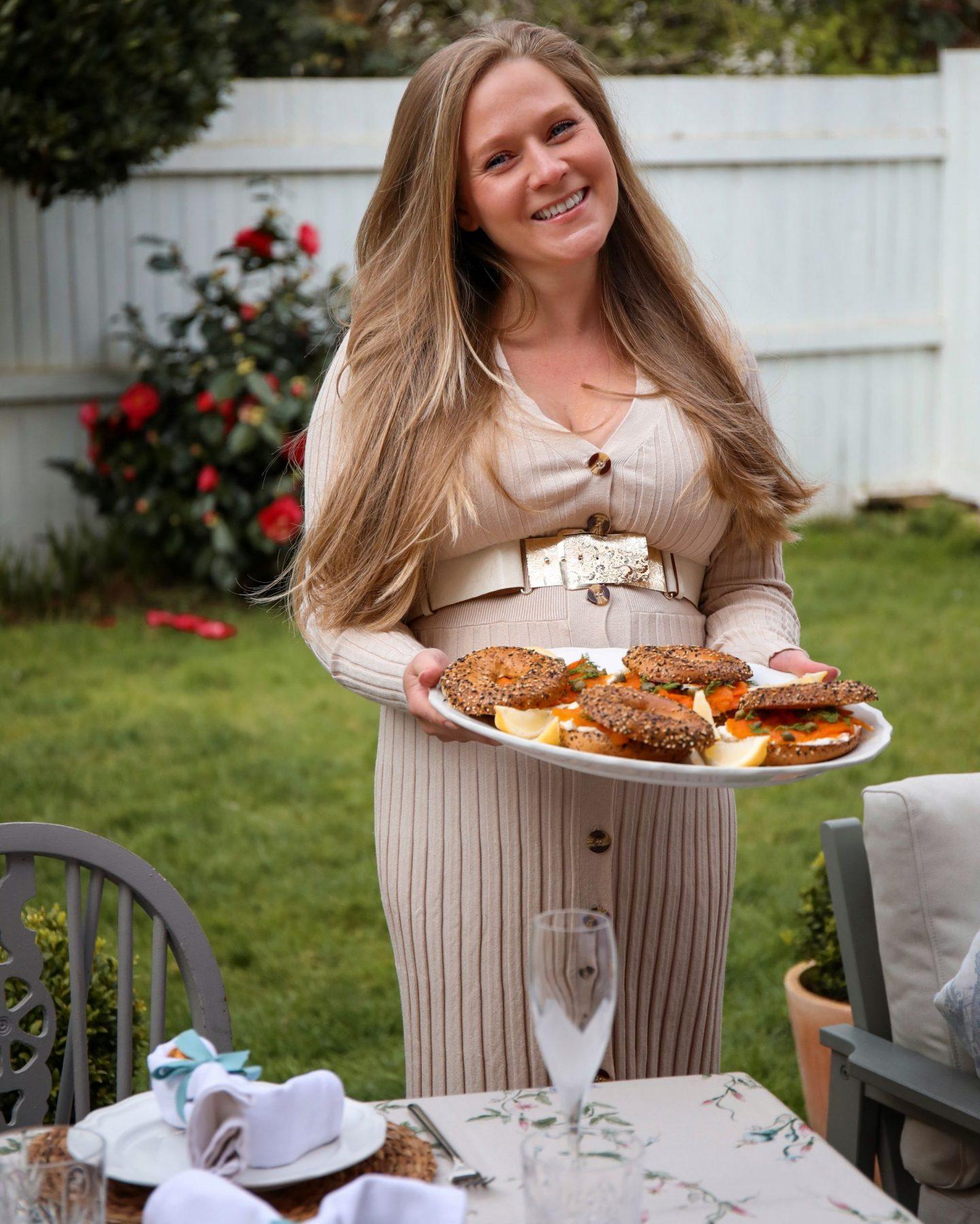 Pastel Easter Brunch Table 2021, Katie Heath KALANCHOE