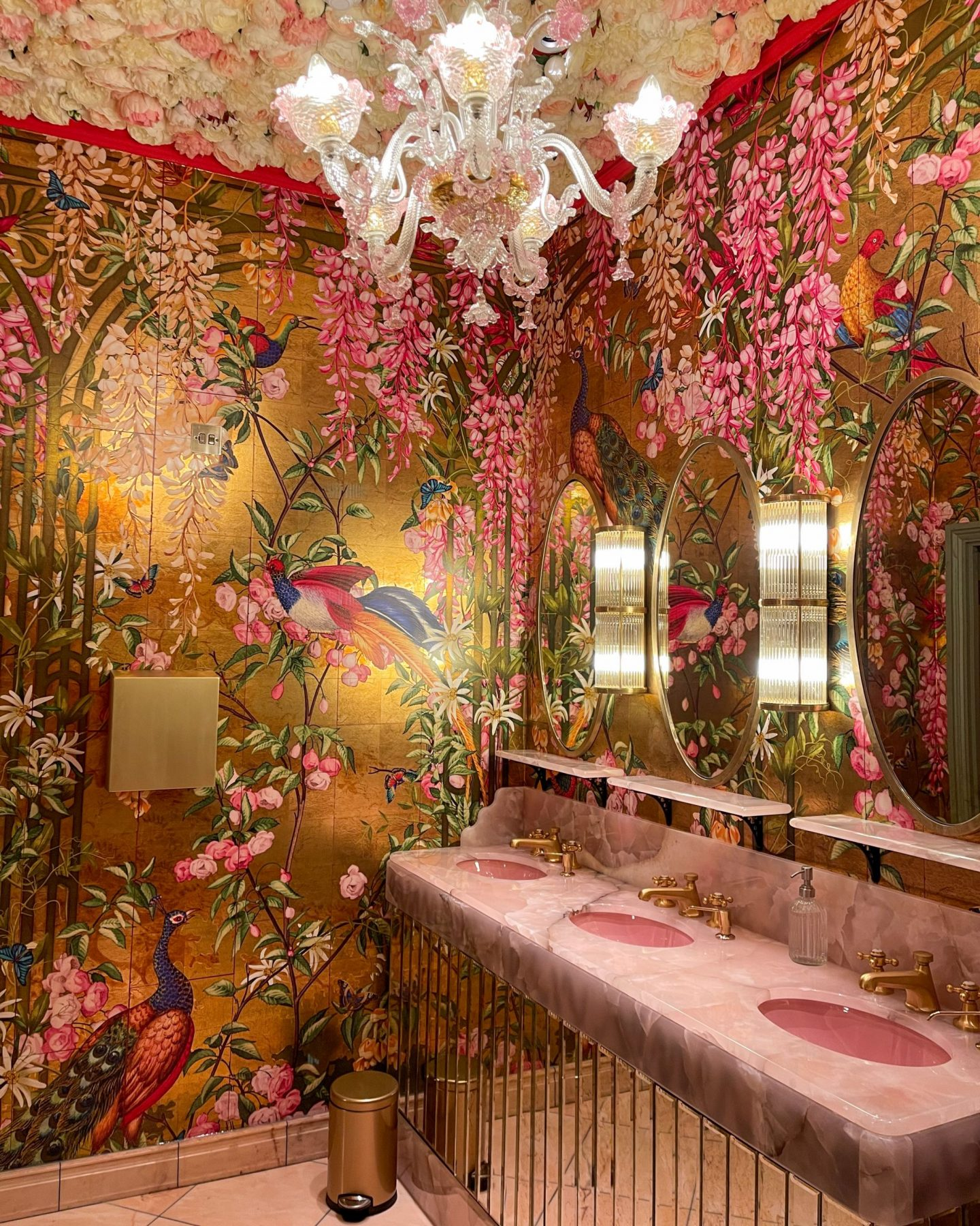 The toilets at The Ivy on the Cathedral Green in Exeter, Devon, Katie KALANCHOE