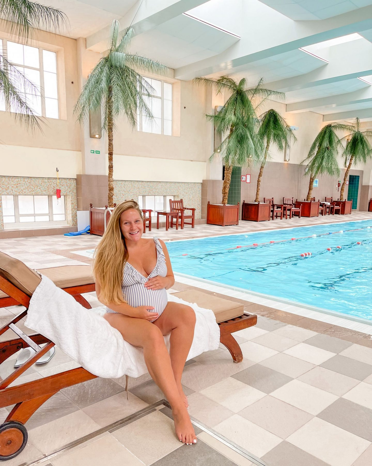 The London Marriott County Hall, The Club at County Hall Swimming Pool, Katie Heath, KALANCHOE